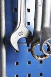 γαλλικά κλειδιά εργαστ Στοκ φωτογραφίες με δικαίωμα ελεύθερης χρήσης