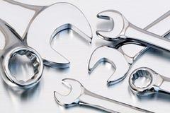 γαλλικά κλειδιά κλειδ&io Στοκ Εικόνες