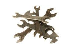 γαλλικά κλειδιά σωρών Στοκ φωτογραφία με δικαίωμα ελεύθερης χρήσης