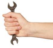 γαλλικά κλειδιά χεριών Στοκ Φωτογραφία
