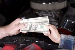 γαλλικά κλειδιά χρημάτων &al Στοκ φωτογραφία με δικαίωμα ελεύθερης χρήσης