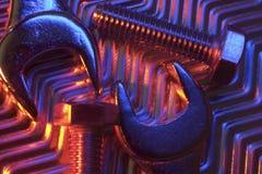 γαλλικά κλειδιά Στοκ φωτογραφία με δικαίωμα ελεύθερης χρήσης