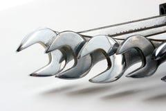 γαλλικά κλειδιά Στοκ εικόνα με δικαίωμα ελεύθερης χρήσης