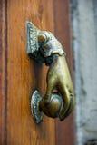 Γαλλικά ρόπτρα πορτών Στοκ Εικόνες