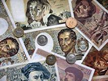 Γαλλικά φράγκα. Στοκ φωτογραφία με δικαίωμα ελεύθερης χρήσης