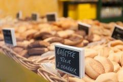 Γαλλικά ψημένα αγαθά. Στοκ εικόνα με δικαίωμα ελεύθερης χρήσης