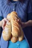 Γαλλικά baguettes Στοκ εικόνες με δικαίωμα ελεύθερης χρήσης