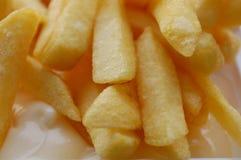 γαλλικά frites Στοκ φωτογραφία με δικαίωμα ελεύθερης χρήσης