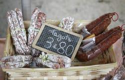 γαλλική αγορά παρουσία&sigma Στοκ Εικόνα