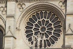 Γαλλική αρχιτεκτονική - καθεδρικός ναός Notre-Dame περιοχής Στοκ φωτογραφίες με δικαίωμα ελεύθερης χρήσης