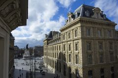 Γαλλική αρχιτεκτονική στοκ φωτογραφίες με δικαίωμα ελεύθερης χρήσης