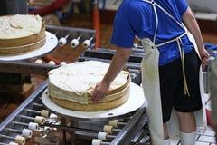 γαλλική βιομηχανία τυριών Στοκ εικόνα με δικαίωμα ελεύθερης χρήσης