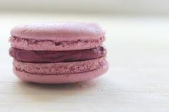 Γαλλική γλυκιά λιχουδιά, macaroons κινηματογράφηση σε πρώτο πλάνο ποικιλίας Macaroons κέικ που απομονώνεται σε ένα ελαφρύ υπόβαθρ στοκ εικόνες με δικαίωμα ελεύθερης χρήσης