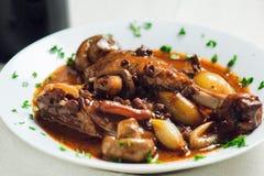 Γαλλικό γεύμα Στοκ φωτογραφία με δικαίωμα ελεύθερης χρήσης