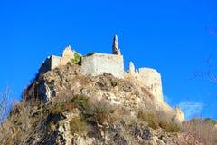 Γαλλικό κάστρο Usson σε Ariege Στοκ Εικόνα