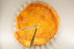 Γαλλικό κέικ βασιλιάδων Στοκ Εικόνα