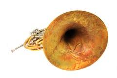 γαλλικό κέρατο παλαιό στοκ φωτογραφίες με δικαίωμα ελεύθερης χρήσης