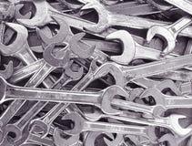 γαλλικό κλειδί ανασκόπη&sig στοκ εικόνες με δικαίωμα ελεύθερης χρήσης