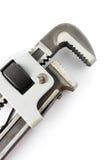 γαλλικό κλειδί σωλήνων Στοκ Εικόνες