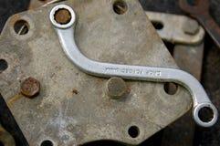 Γαλλικό κλειδί του S Στοκ Εικόνες