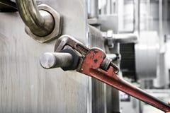γαλλικό κλειδί Στοκ εικόνες με δικαίωμα ελεύθερης χρήσης