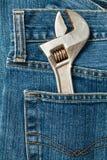 γαλλικό κλειδί τσεπών Στοκ Φωτογραφία