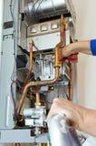 γαλλικό κλειδί υδραυλ& Στοκ εικόνα με δικαίωμα ελεύθερης χρήσης