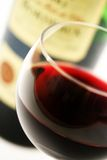 γαλλικό κόκκινο γυαλι&omicr Στοκ Εικόνες