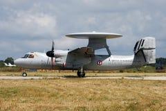 γαλλικό ναυτικό radarplane Στοκ εικόνα με δικαίωμα ελεύθερης χρήσης