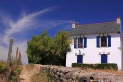 γαλλικό σπίτι διακοπών τη&sigm Στοκ φωτογραφίες με δικαίωμα ελεύθερης χρήσης