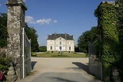 γαλλικό σπίτι χωρών στοκ εικόνα