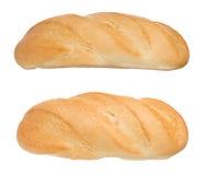 Γαλλικό ψωμί στο λευκό στοκ φωτογραφίες με δικαίωμα ελεύθερης χρήσης