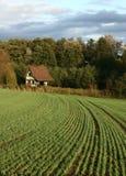γαλλικό landscape01 αγροτικό Στοκ Εικόνες