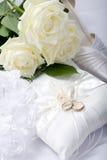 Γαμήλια ακόμα ζωή Στοκ Φωτογραφίες