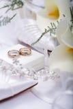Γαμήλια ακόμα ζωή Στοκ Εικόνες
