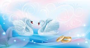 Γαμήλια κάρτα Στοκ Εικόνα