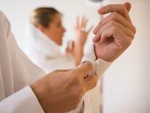 Γαμήλια προετοιμασία Στοκ εικόνα με δικαίωμα ελεύθερης χρήσης