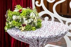 Γαμήλια τελετή διακοσμήσεων Παραλαβές γαμήλιων διακοσμήσεων Στοκ Εικόνες