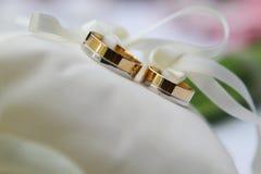 Γαμήλια δαχτυλίδια Στοκ Εικόνες