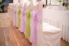 Γαμήλιες έδρες Στοκ φωτογραφίες με δικαίωμα ελεύθερης χρήσης