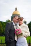 γαμήλιες νεολαίες ζευγών Στοκ Φωτογραφίες