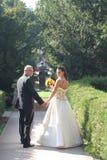 γαμήλιες νεολαίες ζευγών Στοκ Εικόνες