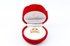 Γαμήλιο δαχτυλίδι Στοκ εικόνα με δικαίωμα ελεύθερης χρήσης