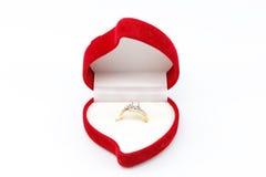Γαμήλιο δαχτυλίδι Στοκ φωτογραφία με δικαίωμα ελεύθερης χρήσης