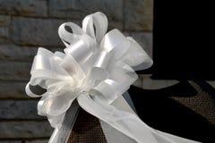 γαμήλιο λευκό τόξων Στοκ Εικόνες