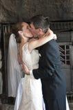 Γαμήλιο φιλί Στοκ Εικόνα