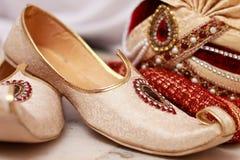 Γαμήλια ένδυση - Ινδία Στοκ εικόνες με δικαίωμα ελεύθερης χρήσης