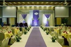 Γαμήλια αίθουσα Στοκ Εικόνα