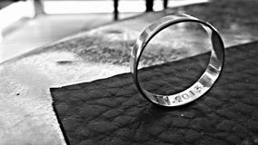 Γαμήλια αγάπη δαχτυλιδιών Στοκ εικόνα με δικαίωμα ελεύθερης χρήσης