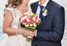 Γαμήλια ανθοδέσμη της νύφης στοκ εικόνα